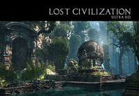 lost civilization 3D model