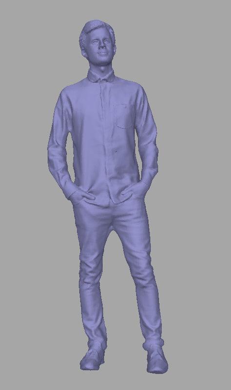 scanned background polys model