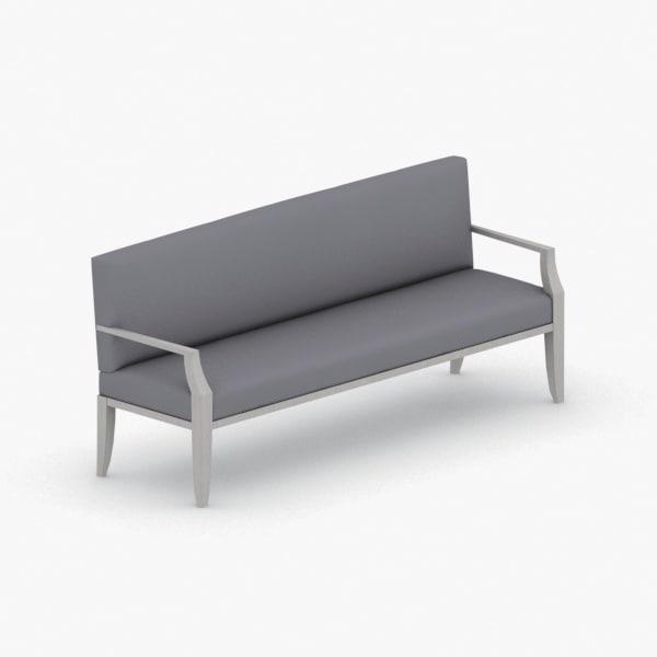 3D interior - sofa