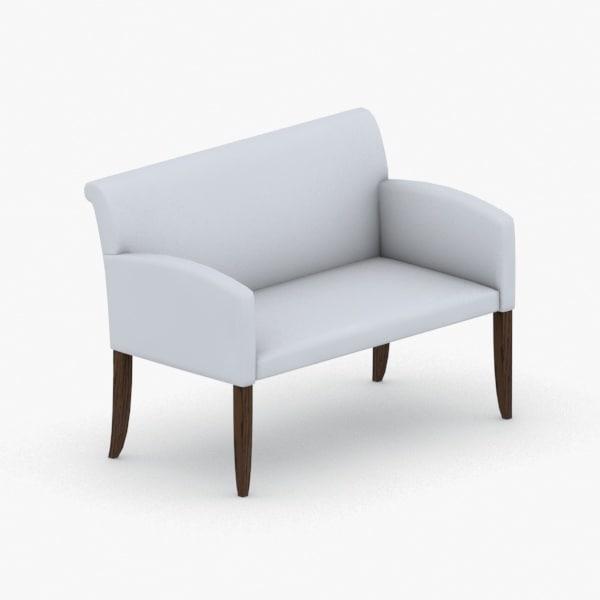 3D model interior - sofa