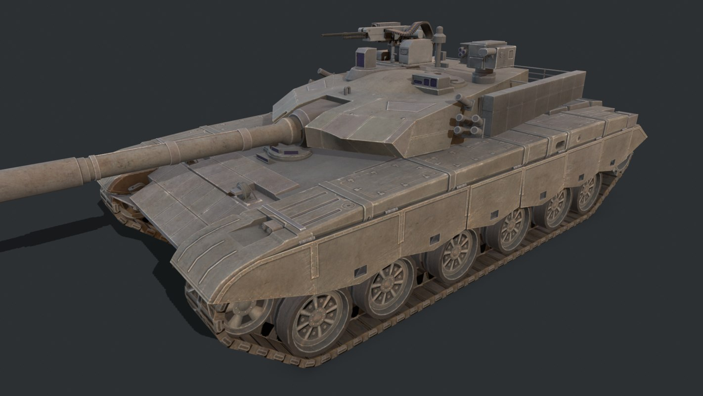 3D military vehicles model