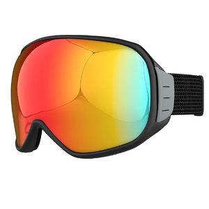 modern snowboard ski goggles 3D model