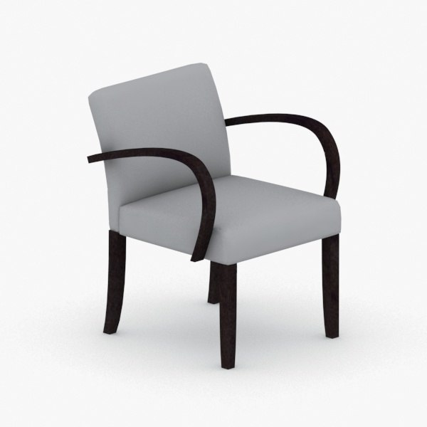 interior - armchair chair stool 3D