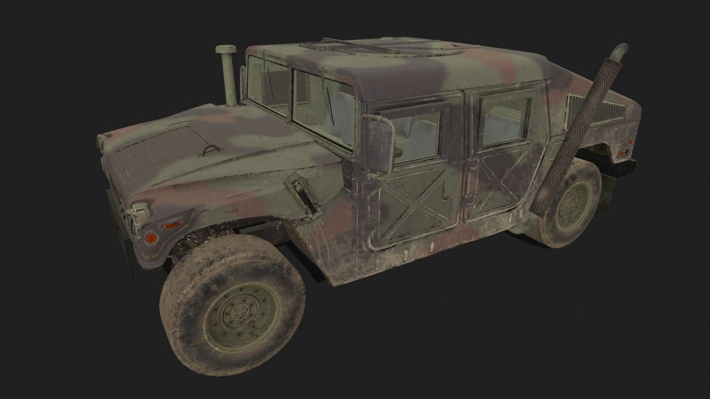 military vehicles model