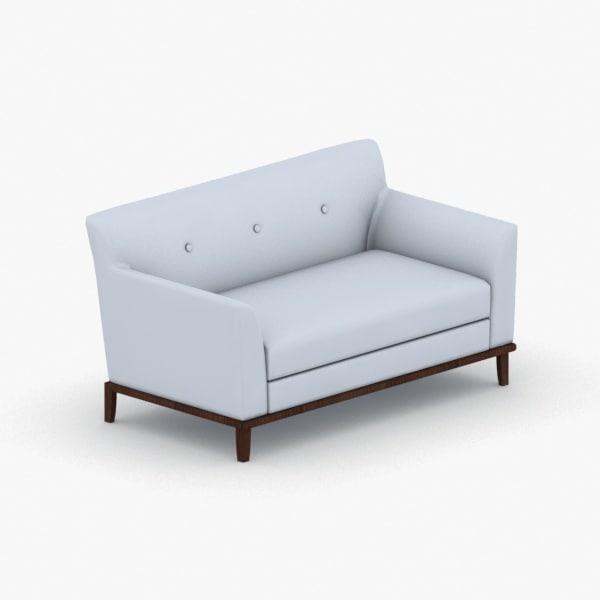 3D interior - sofa model