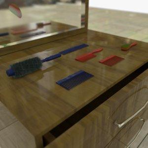 drawers bonus objects 1 3D model