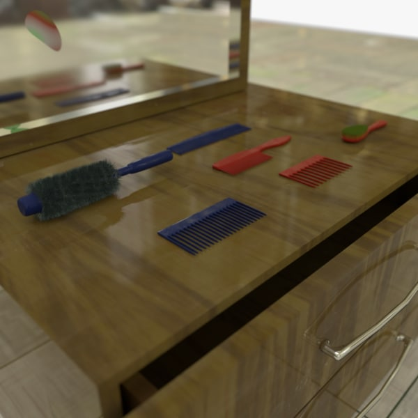 drawers bonus objects 1 3D model