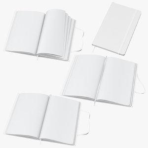 moleskine sketchbook 01 3D