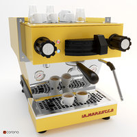 3D la marzocco coffee machine