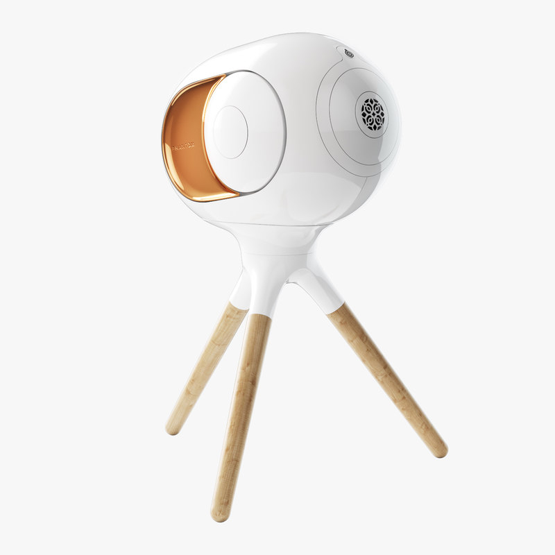 3D speaker devialet phantom model