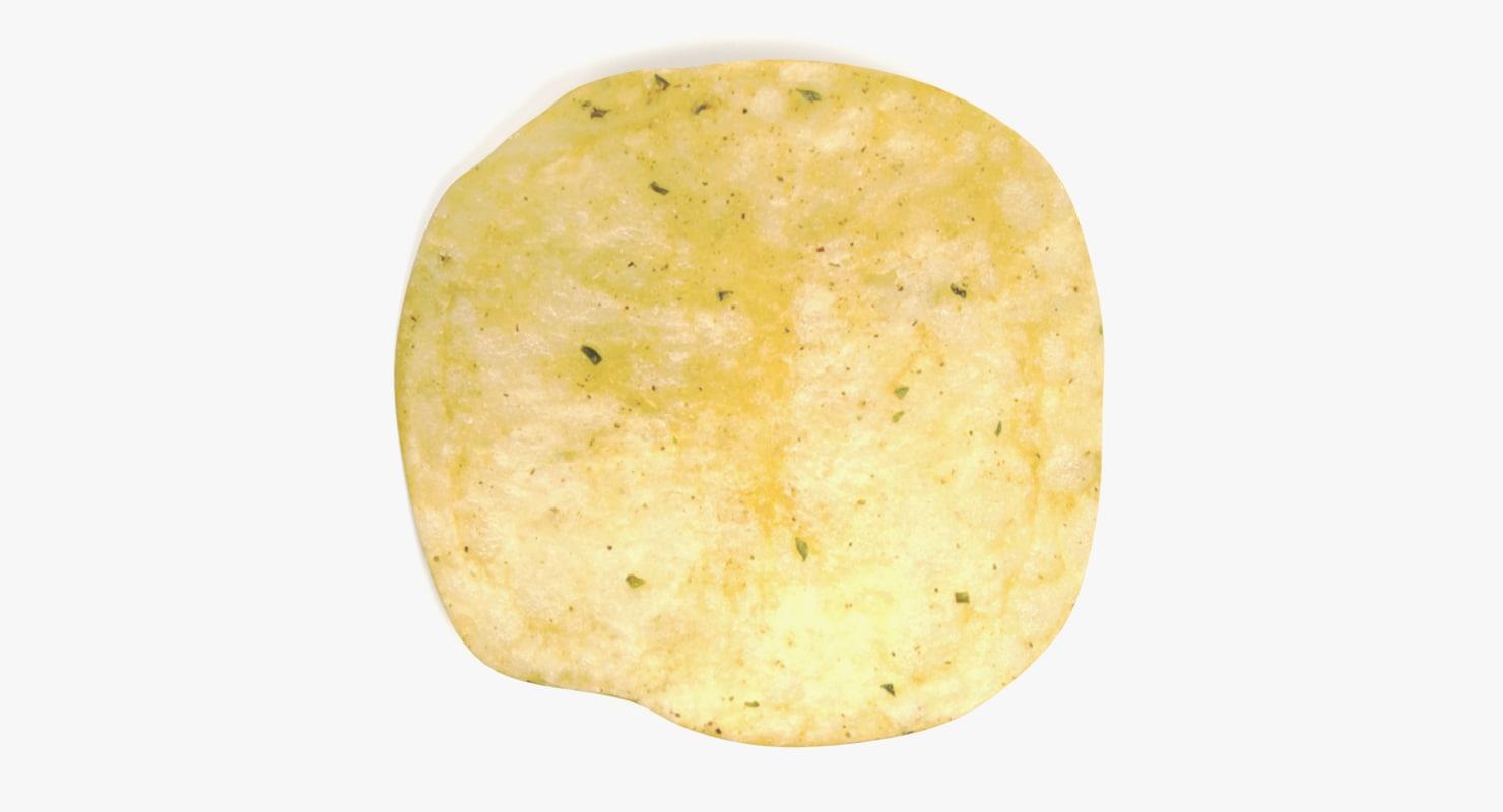 3D potato chip