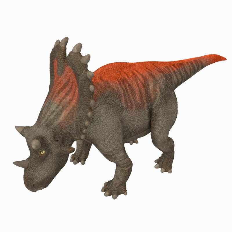uthaceratops rigged 3D