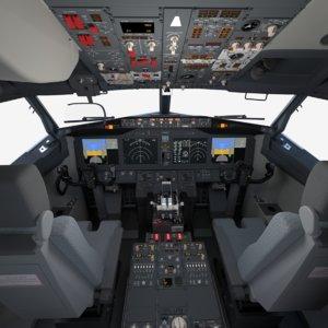 3D boeing 737 cockpit