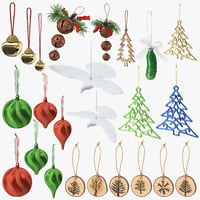 Christmas Ornaments Collection
