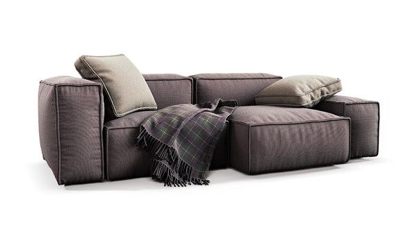 sofa lambrusco 3D model