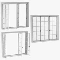classic window 05 3D