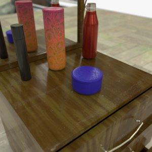 drawers bonus objects 2 3D model