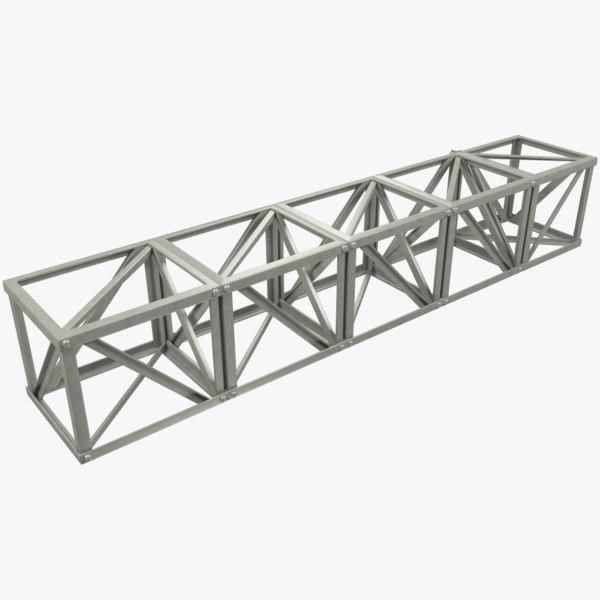 line truss model