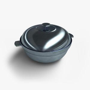 catering soup 3D model