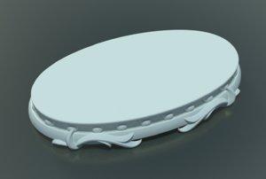 base sculptures 3D model