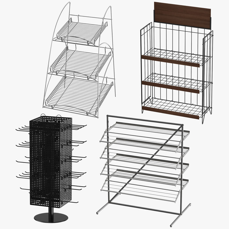 3D display racks