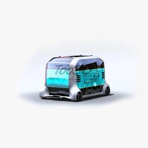 3D epalette e palette model