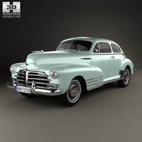 3D chevrolet fleetline 1948