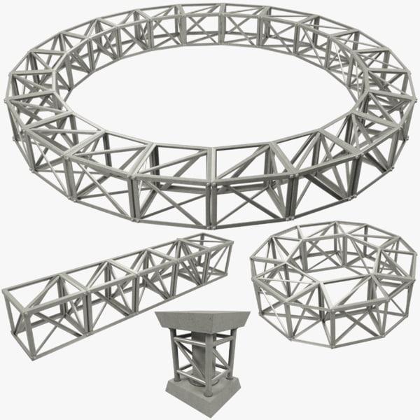 building truss 3D