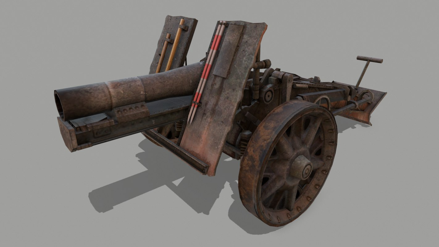 3D 33 german heavy model