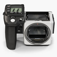 low-poly hasselblad h5x body 3D model