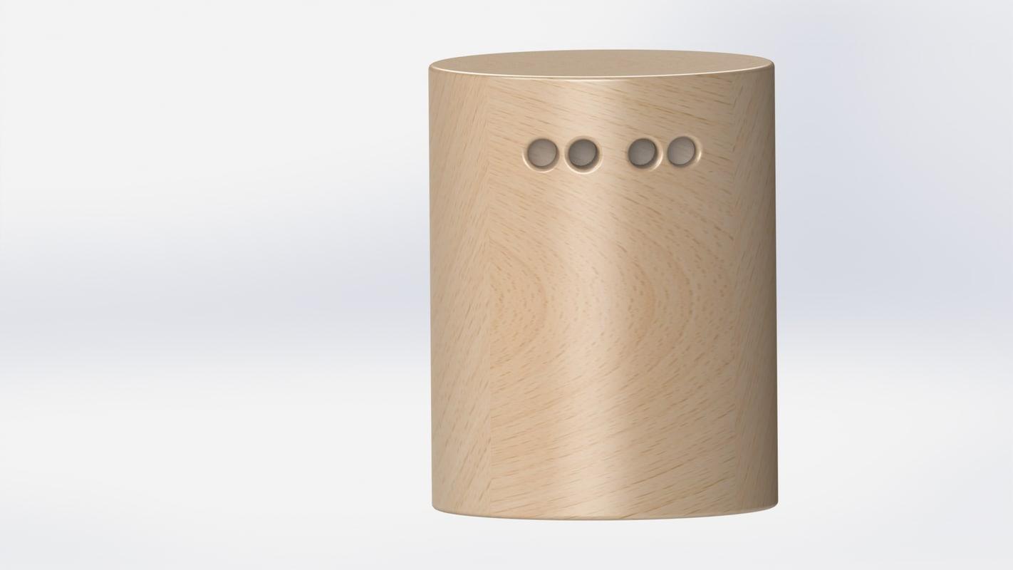 3D model solidworks decor