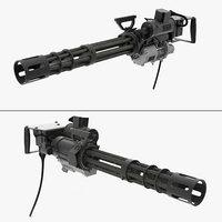 3D m134 minigun