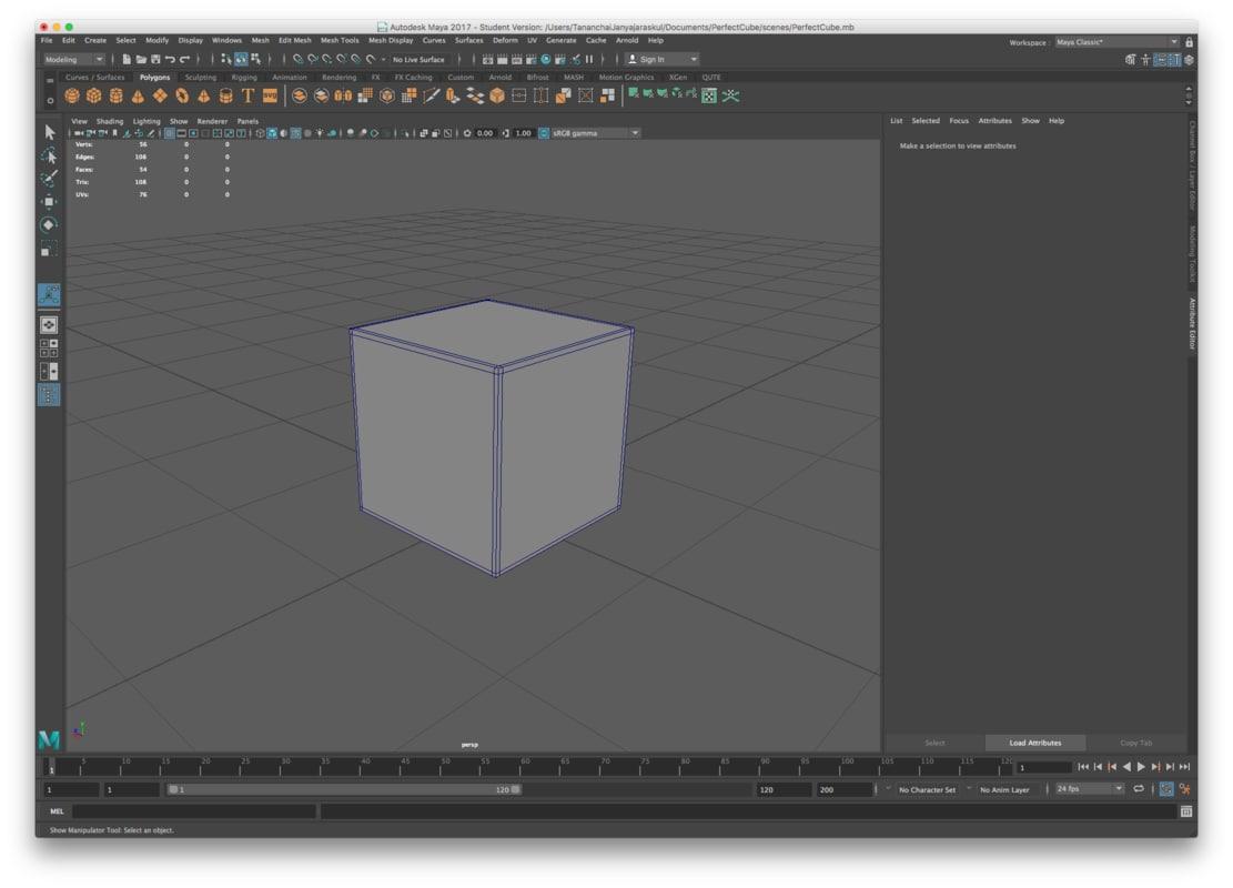 box smooth 3D model