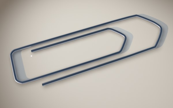 paperclip papers 3D