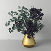 Bouquet with elderberry