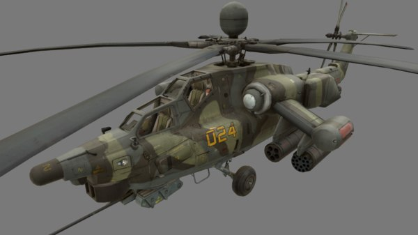 3D mi-28 havoc
