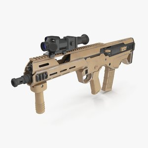3D msbs assault rifle
