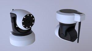 ptz camera 3D model