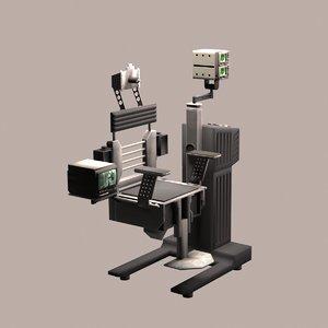 3D robocop chair model