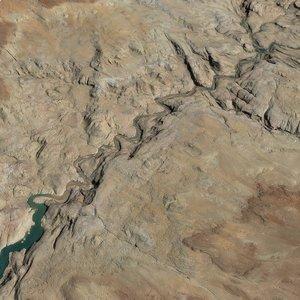 3D landscape 02 model