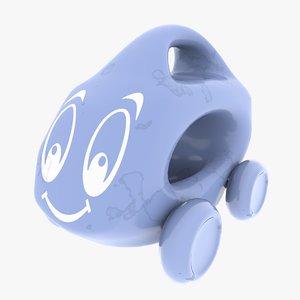 little toy car 3D model