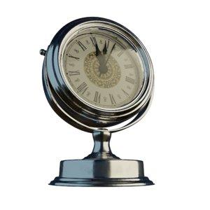 metal clock 3D model