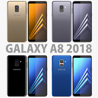 colors samsung galaxy a8 3D