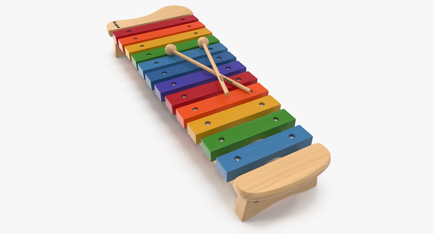 3D xylophone percussion musical toy