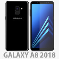 3D samsung galaxy a8 model