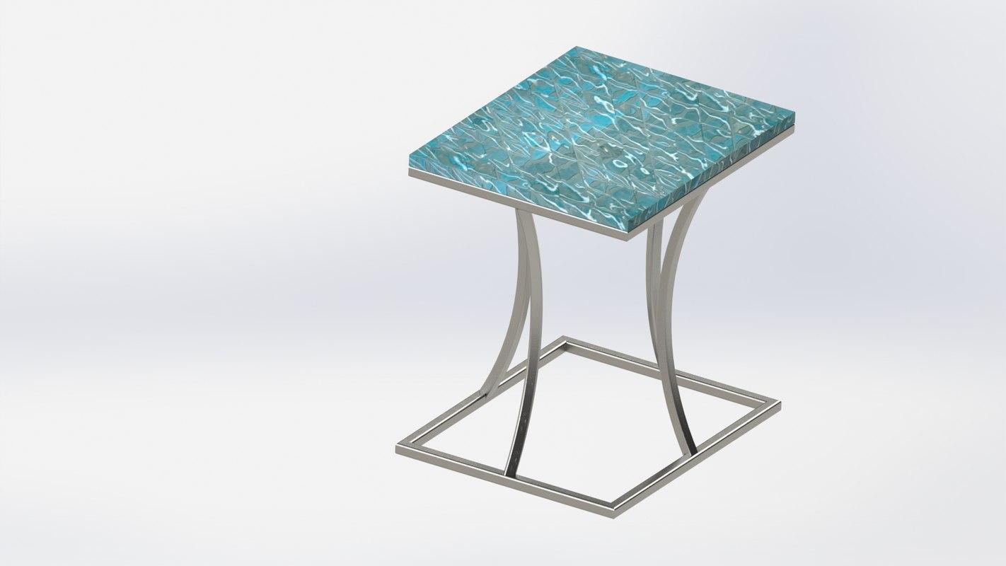 solidworks marble decor 3D model
