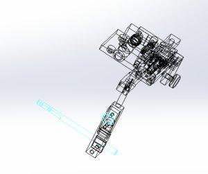 fiber optic adjustment fixture model