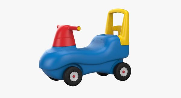 3D model riding toy