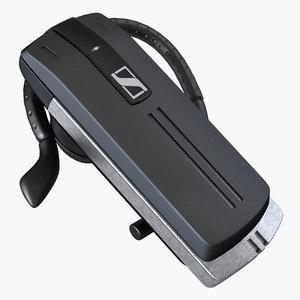 3D bluetooth headset sennheiser presence model