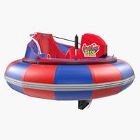 3D model bumper boat